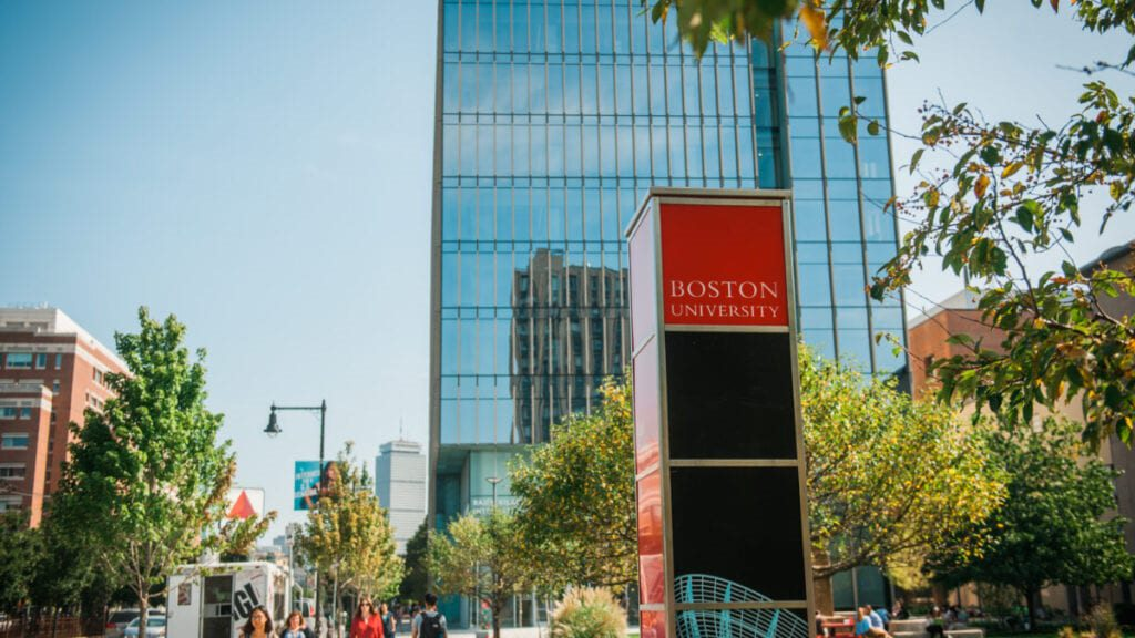 Boston University Trustee scholars